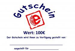 Gutschein Gutschein |100€